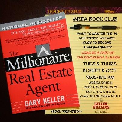 Millionaire Real Estate Agent Book Club